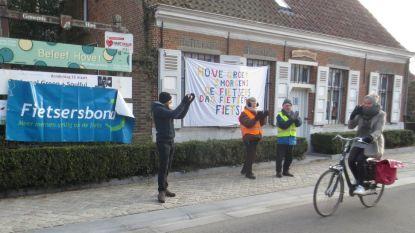 Warm applaus voor al wie de fiets neemt