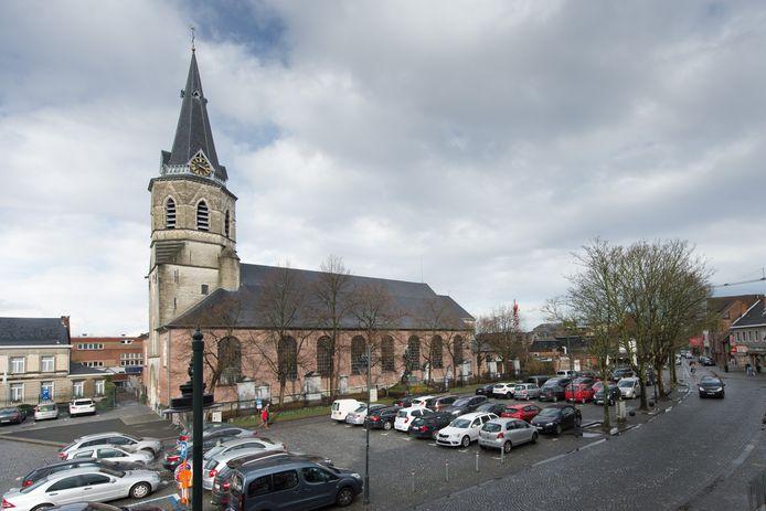 De centrumkerk in Bornem
