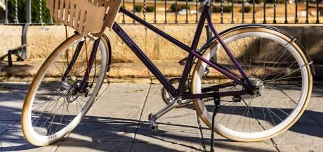 Deze fiets is gemaakt van 300 gerecyclede Nespresso-cupjes