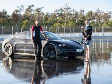 Oud-Eindhovenaar vestigt wereldrecord op Hockenheimring: 55 minuten driften met elektrische Porsche
