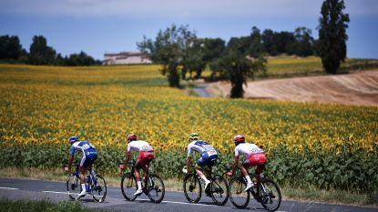 LIVE TOUR. Kwartet met één Belg vormt vroege vlucht, wacht voorlaatste sprintkans in Toulouse?
