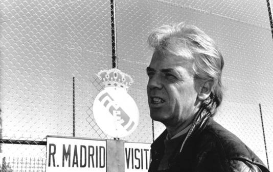 Leo Beenhakker in zijn periode bij Real Madrid.