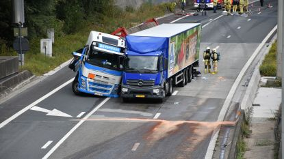 Antwerpse ring weer vrijgemaakt richting Gent na urenlang hinder door gekantelde vrachtwagen in Lillo