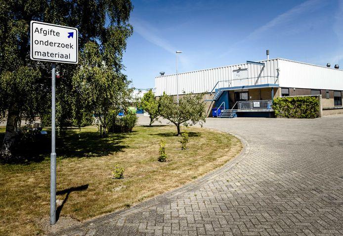 Exterieur van het laboratorium van Wageningen Bioveterinary Research in Lelystad.