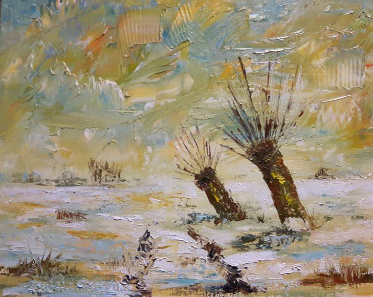 Bruno Foltin was een graag geziene kunstenaar.