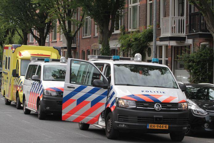 Steekpartij op de Dubbeldamseweg Dordrecht.