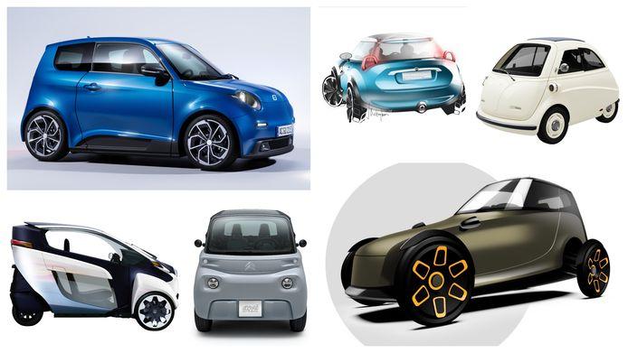 Van grote merken als Citroën tot de kleine Rotterdamse startup YKS1: dwergauto's zijn helemaal terug