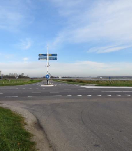 Aanleg rotonde op Schouwse N59 mag, veiliger maken van doorgaande route kan beginnen
