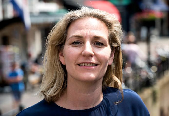Utrecht - Anke Klein, wethouder D66 (Foto Marnix Schmidt)