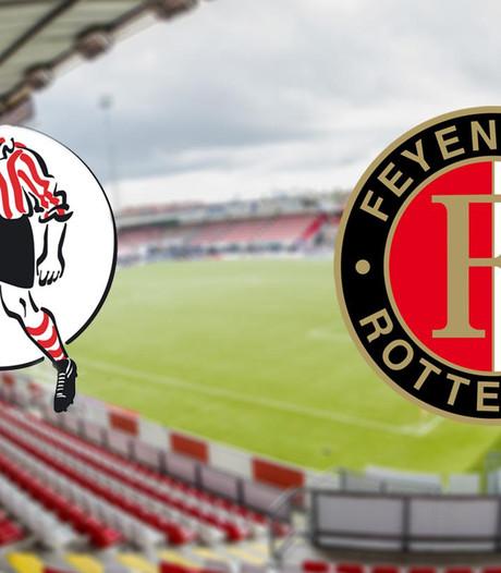 LIVE: 'Gio' verrast met tiener Vente in spits Feyenoord