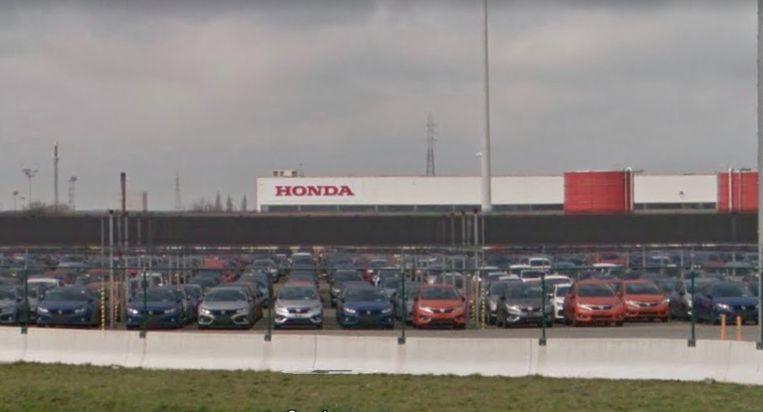 De Gentse Honda-fabriek langs de Kennedylaan