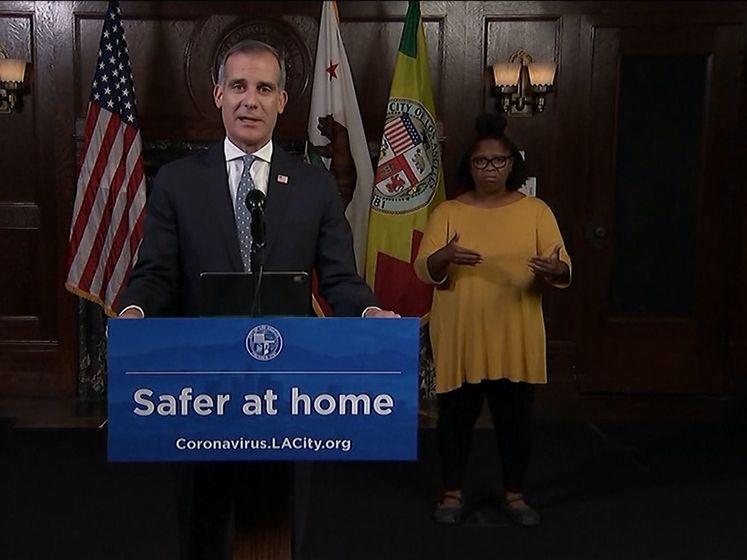 Burgemeester Los Angeles luidt de noodklok