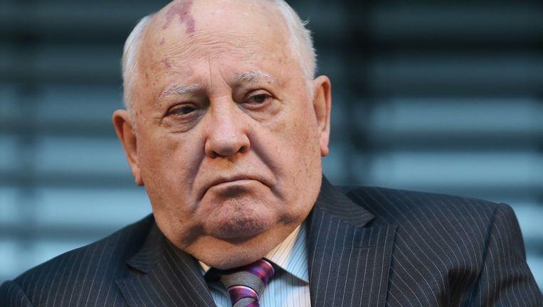"""Volgens oud-Sovjetleider Michail Gorbatsjov staat """"de wereld aan de rand van een nieuwe Koude Oorlog""""."""