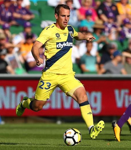 Wout Brama trefzeker in Australië voor Central Coast Mariners