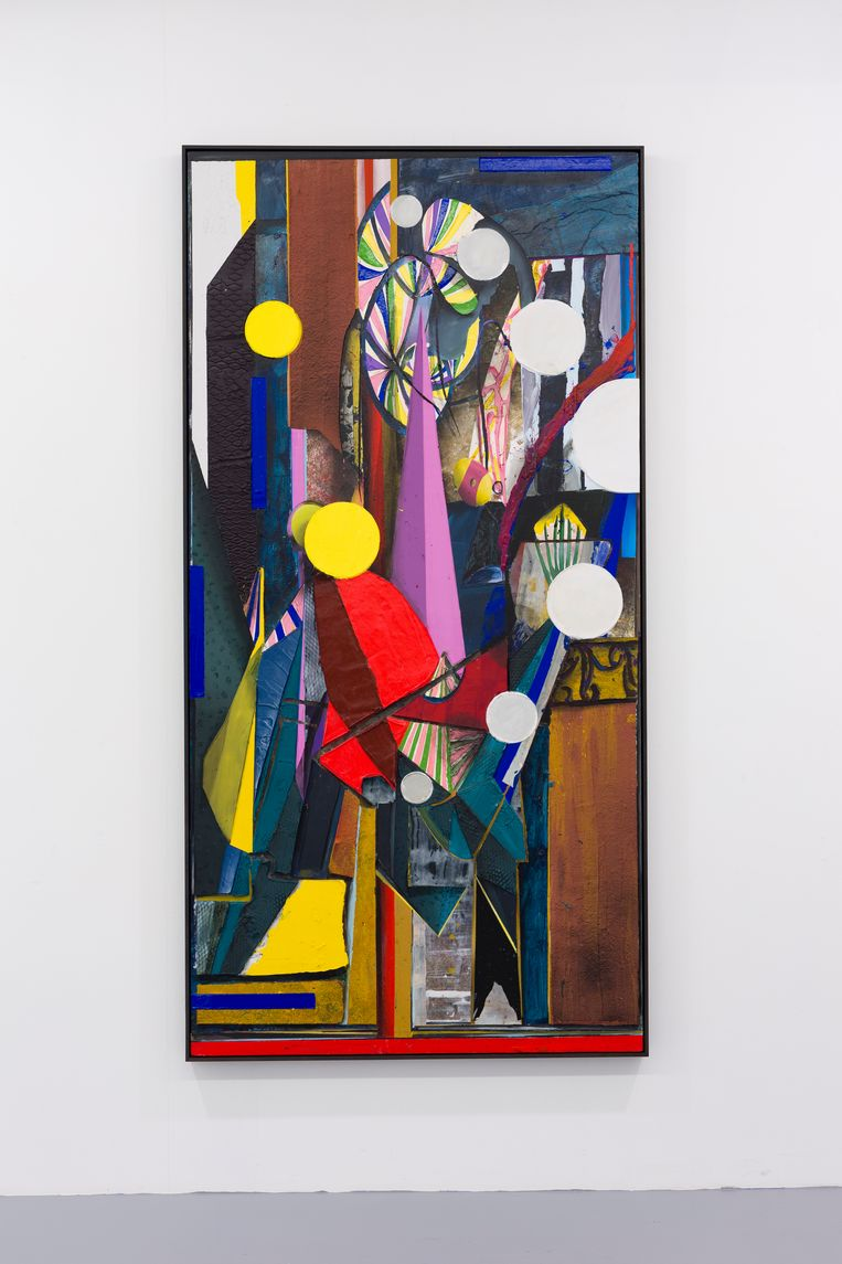 Tjebbe Beekman heeft al twintig kunstwerken klaarstaan voor transport naar New York.  Beeld Sonia Mangiapane