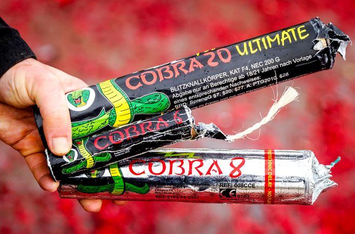 Illegaal vuurwerk, foto ter illustratie.
