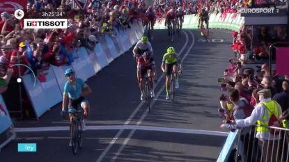 Magnus Cort Nielsen legt Van Avermaet in de luren in Tour de Yorkshire, ook Serge Pauwels (4de) toont zich