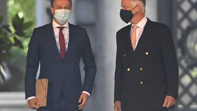 """Opdracht Open Vld-voorzitter Lachaert verlengd: """"Hopen over week volgende stap te kunnen zetten"""""""