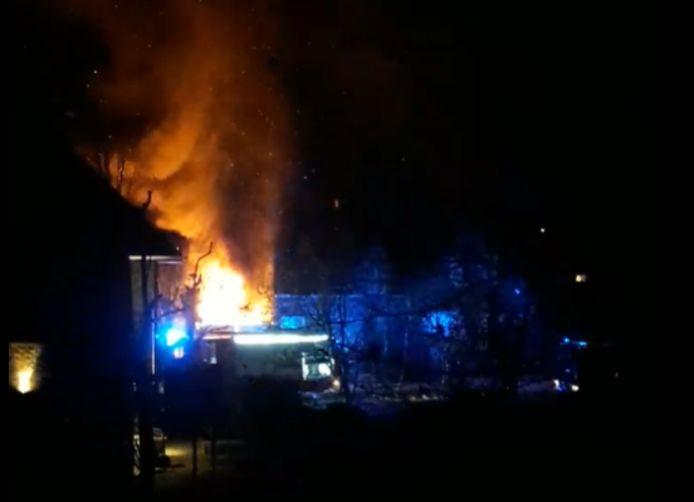 De brand in de Dryhoek afgelopen weekend
