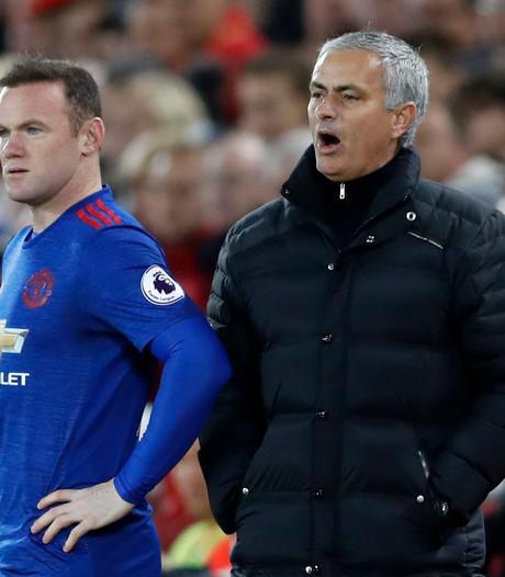 Mourinho wil niet dat clubicoon Rooney vertrekt