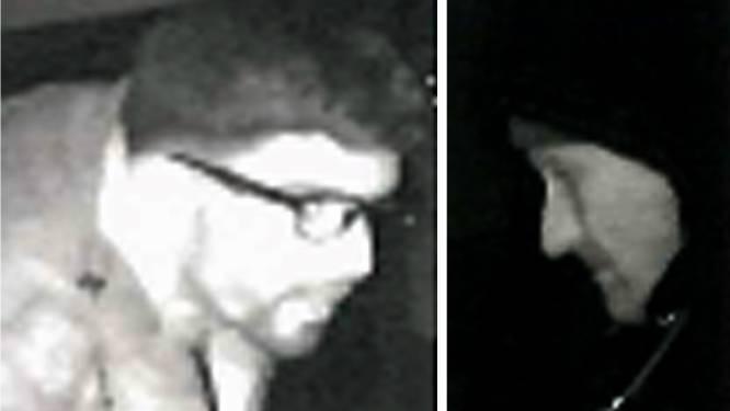 VIDEO. Wie herkent de twee mannen die inbraken in Loods 3 in Eeklo?