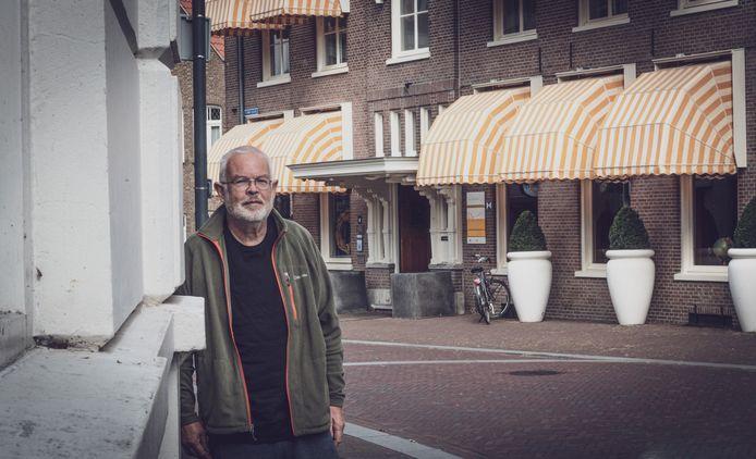 Jan Gerritsen voor Hotel De Wereld in Wageningen.