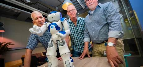 Sociale robots helpen studenten in Apeldoorn bij overwinnen van faalangst