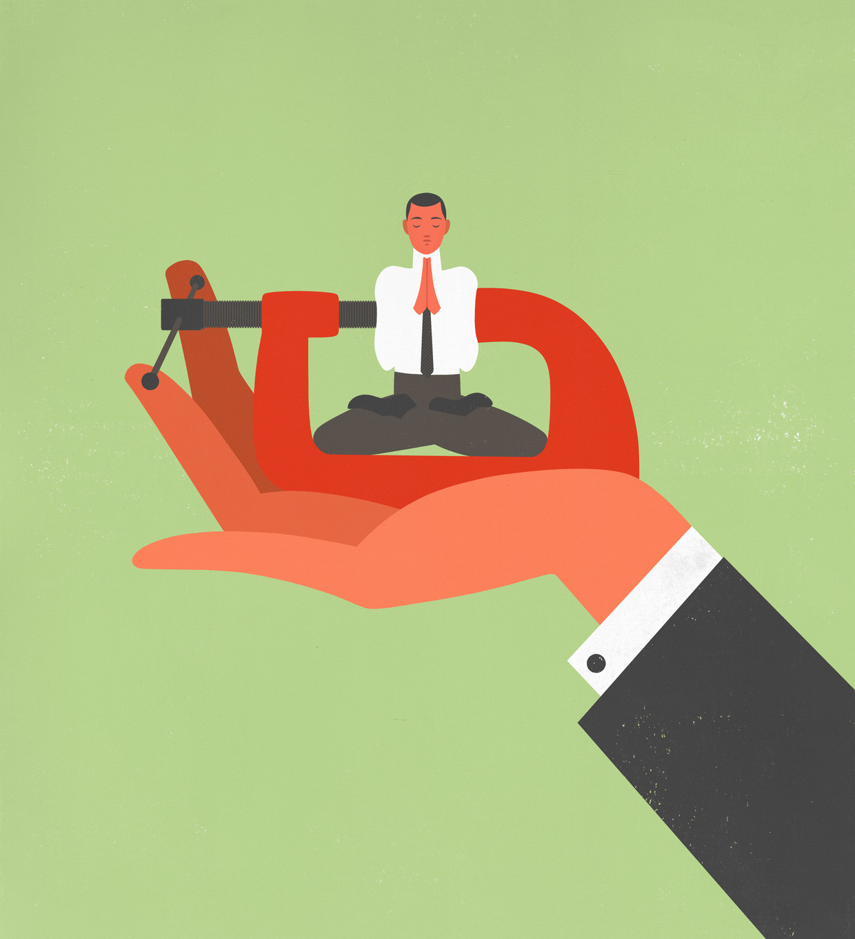 Volgens hoogleraar management Ronald Purser is mindfulness een neoliberale ontspanningsmethode die mensen passief en gedwee maakt. Beeld Jon Krause