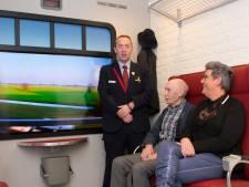 Fictieve treinreis voor mensen met dementie in verpleeghuis Zonnekamp