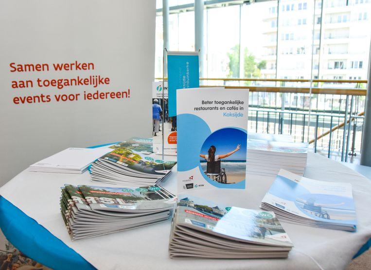 In deze brochures vind je de toegankelijke horecazaken aan de kust en toegankelijk sanitair in de provincie