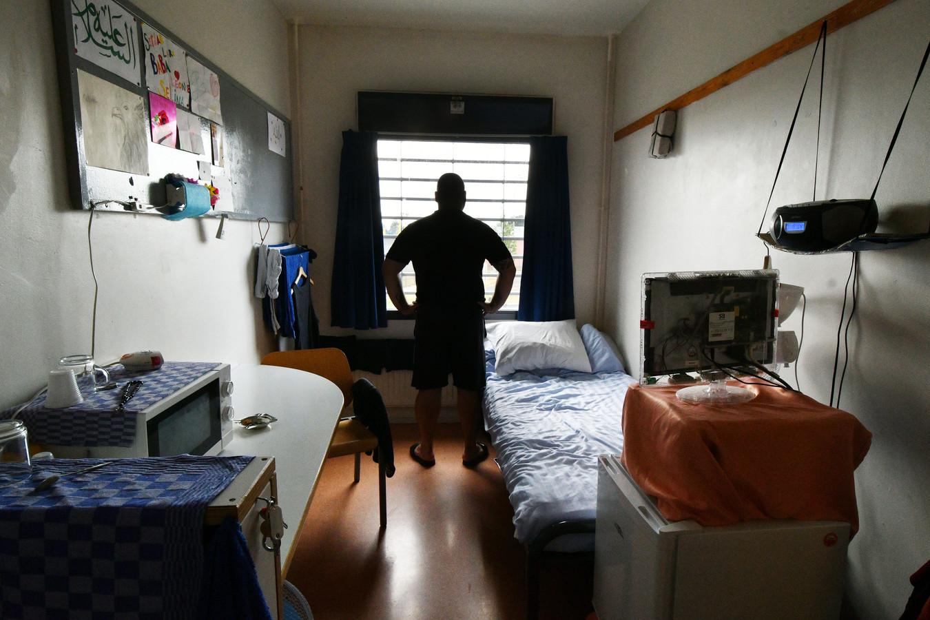 Abdul in zijn cel