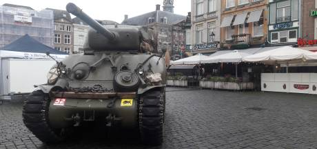 Sherman tank mag niet rijden tijdens Bossche bevrijdingsparade: kans op schade