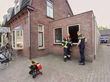 Brandweer rukt uit naar de bakker in Middelbeers