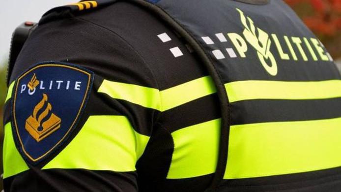 politie stock politieagent