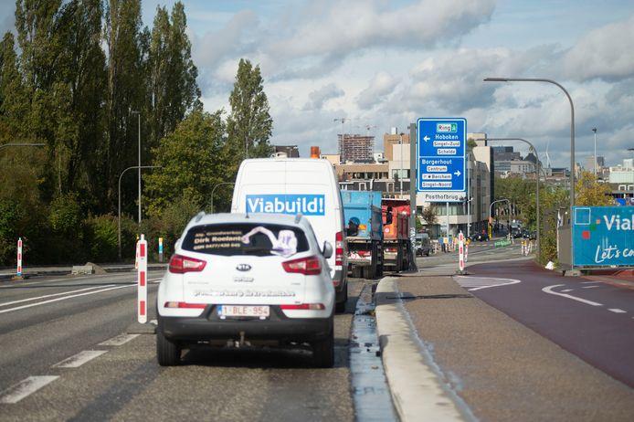De Posthofbrug in Antwerpen.