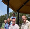 De mannen van de werkgroep Kiosk.