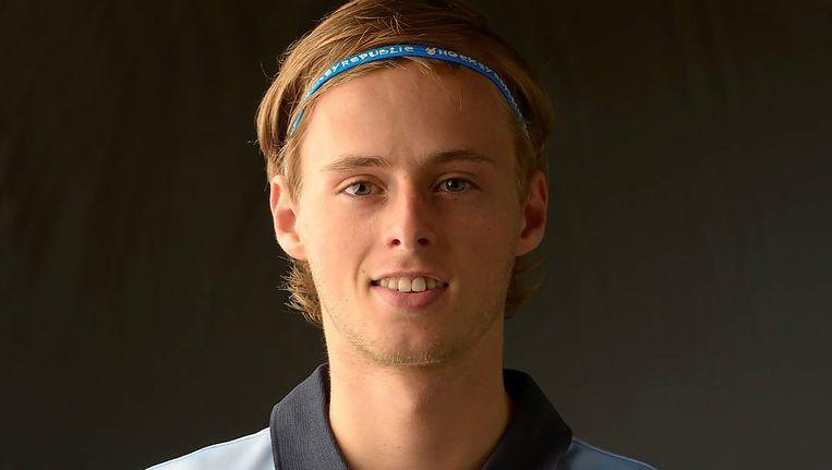 De 21-jarige tophockeyer Rogier Mooij overleed in 2014. Beeld  LMHC
