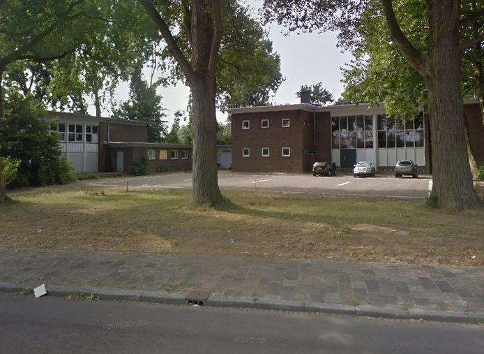 De oude dansschool aan de Merwedestraat in Dordrecht.