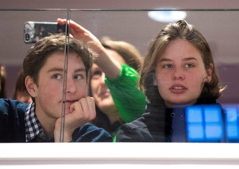 Klimaatspijbelaar Toon Lambrecht is samen met Anuna De Wever één van de voortrekkers van Youth for Climate.  Hij neemt deel aan het Grote Klimaatdebat.