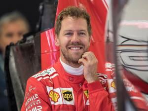 Vettel gilt het uit van plezier