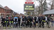 Wielerclub Mac Adam mag al 20 kaarsjes uitblazen