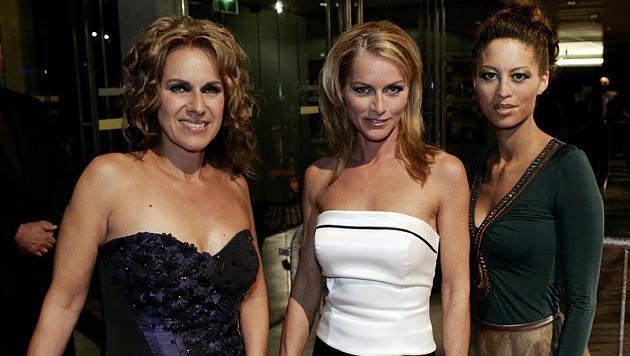 Cilly Dartell, Milika Peterzon en Maureen du Toit.