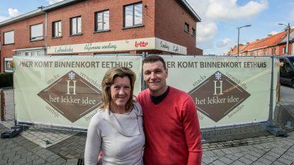 Voormalige buurtwinkel 't Hoekske wordt eethuis Het Lekker Idee