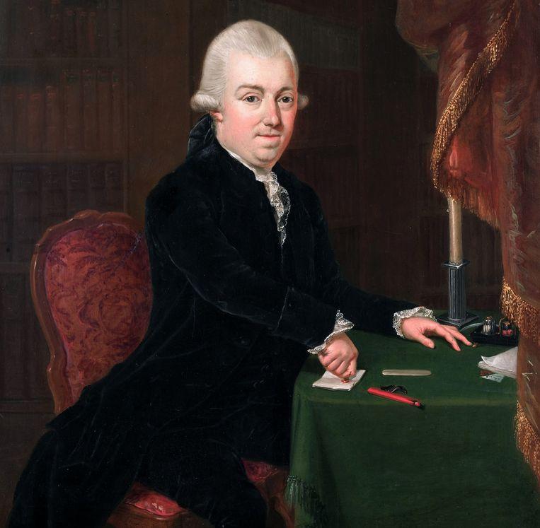 Jan Bernd Bicker (1746-1812)  Beeld L.B. Coclers, 1776