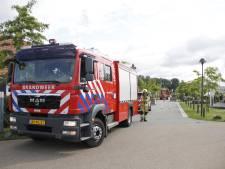 Brand bij zwembad op vakantiepark in Nijkerk