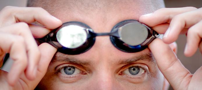 Portret van zwemmer Maarten van der Weijden
