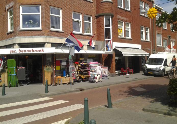 De Vlierboomstraat in Den Haag.
