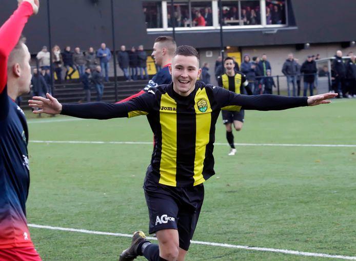 Mike de Nijs opende zijn doelpuntenproductie in Sint-Annaland. (archieffoto).