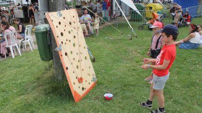 Kinderen ontdekken oude volksspelen op Gooikoorts
