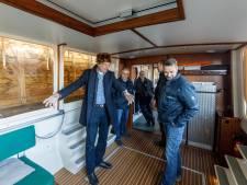 IJs of geen ijs: stemboot Steenwijkerland vaart uit